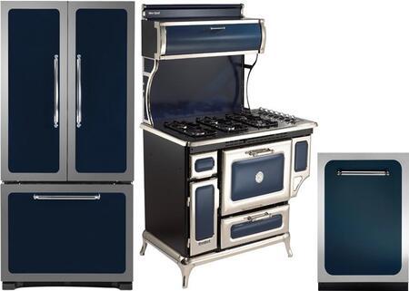 Heartland  882729 Kitchen Appliance Package Blue, 1