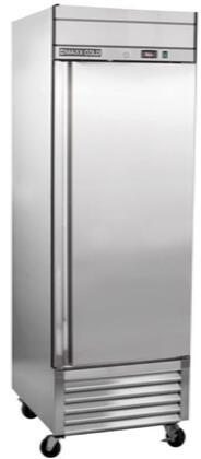 MXSR-23FD 27″ Select Series Solid Door Reach-In Refrigerator with 19.3 cu. ft. Capacity  CFC-Free Polyurethane Foam Insulation  Digital Controls and