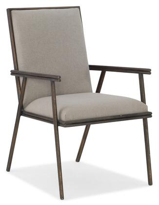Hooker Furniture Miramar - Carmel 620075401GRY Dining Room Chair Beige, Silo Image