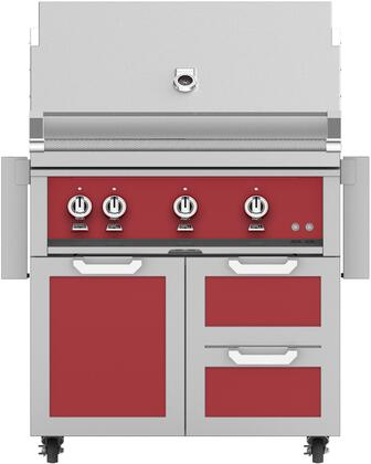 Hestan  851578 Natural Gas Grill Red, Main Image