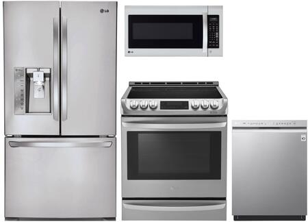LG 1097524 Kitchen Appliance Package & Bundle Stainless Steel, main image