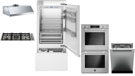 Bertazzoni  1055014 Kitchen Appliance Package Panel Ready, Main Image