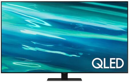 "Samsung  QN85Q80AAFXZA LED TV Black, QN65Q80AAFXZA 85"" Q80A QLED 4K Smart TV"