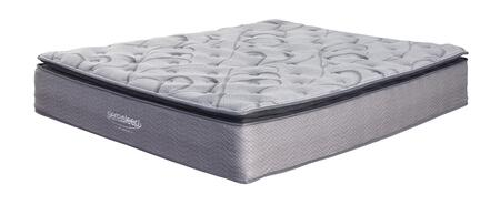 Curacao Collection M84241 King Mattress with Gel Memory Foam  Plush Comfort Level and Waterproof Zip-On Cover in