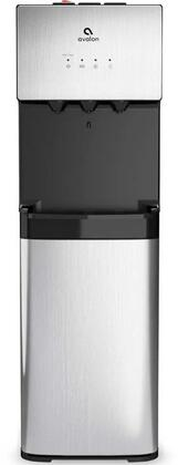 A3 12″ Bottom Loading Bottled Water Dispenser with Hot  Cold and Cool Water  Self Cleaning  Child Safety Lock and Holds 3 or 5 Gallon Bottles in