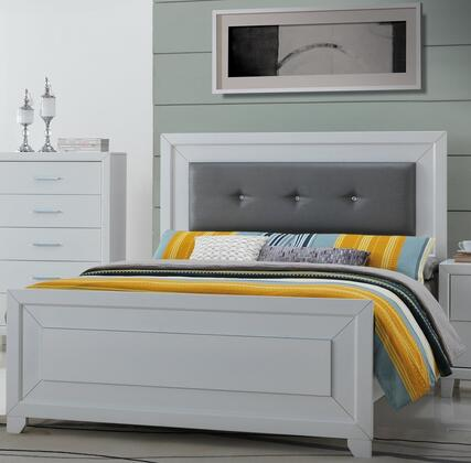 Acme Furniture Switzer 24070Q Bed White, 1