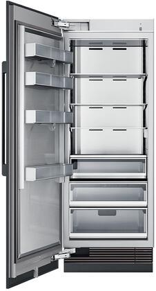 "Dacor Modernist DRR30980LAP Column Refrigerator Panel Ready, DRR30980LAP 30"" Modernist Column Refrigerator Interior View"