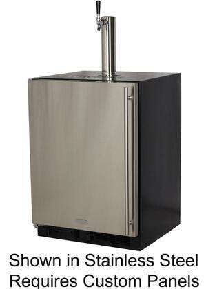 Marvel  ML24BSP3LP Beer Dispenser , stainless steel singel tap built in left hinge