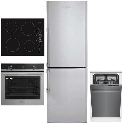 Blomberg  1033782 Kitchen Appliance Package Stainless Steel, Main image