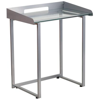 Flash Furniture NANYLCD1234GG Desk Silver, 1