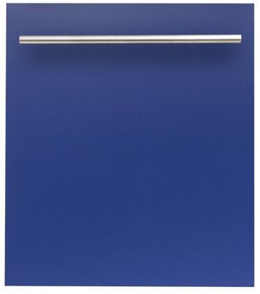 ZLINE  DWBMH24 Built-In Dishwasher Blue, DWBMH24 Top Control Dishwasher