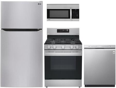 LG  841406 Kitchen Appliance Package Stainless Steel, main image