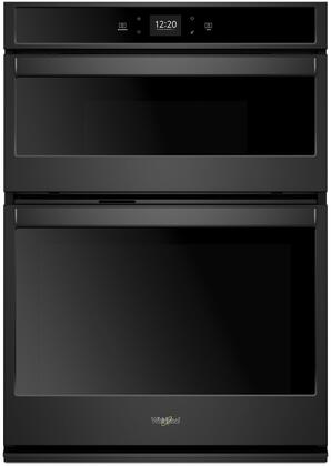 Whirlpool  WOC54EC7HB Double Wall Oven Black, Main Image