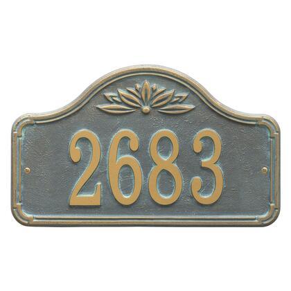 Whitehall Products Ivenwood 2958BV Address Plaques, 2958BV KO