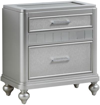 Glory Furniture Paulina G5700N Nightstand Silver, Main View