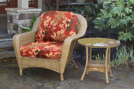 Tortuga Sea Pines LEXCT1MMONTF Outdoor Patio Set Brown, LEXCT1MMONTF Chair