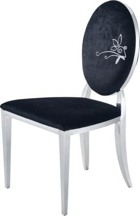 ESF 110 Series I17646 Dining Room Chair Black, 110CHAIR