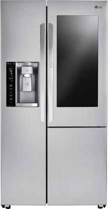 LG  LSXC22396S Side-By-Side Refrigerator Stainless Steel, Main Image