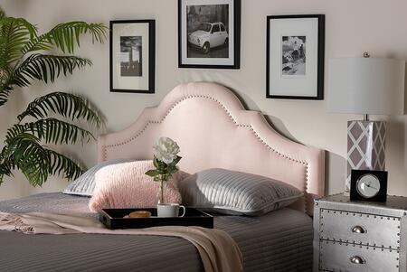 Baxton Studio Rita BBT6567LIGHTPINKHBKING Headboard Pink, 9332 9333 9334 4