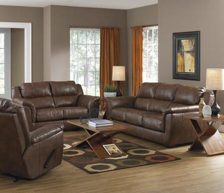 Jackson Furniture  449002 Loveseat Brown, 1