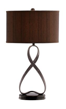 Stein World Lazy Eight 95646 Table Lamp Brown, 1