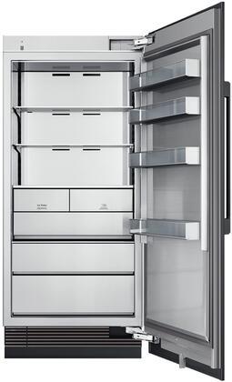 Dacor Contemporary DRZ36980RAP Column Freezer Panel Ready, DRZ36980RAPModernist Series 36 Inch Built In Column Counter Depth Freezer Interior
