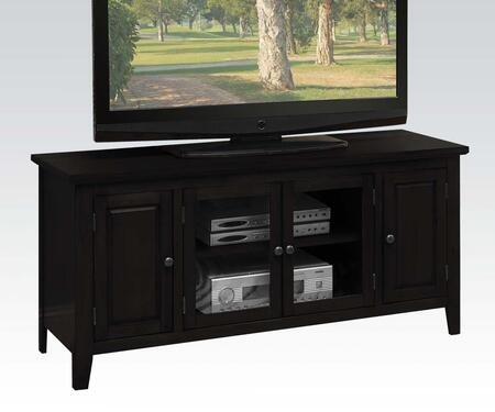 Acme Furniture Christella 10344 52 in. and Up TV Stand Black, 1