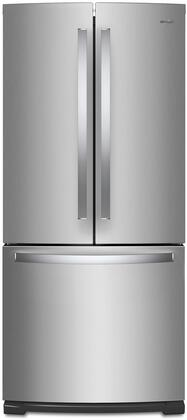 Whirlpool WRF560SMHZ French Door Refrigerator Stainless Steel, Main Image