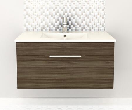Cutler Kitchen and Bath Textures FVDW36 Sink Vanity Brown, Main Image