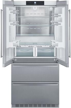 Liebherr  CBS2082N French Door Refrigerator Stainless Steel, CBS2082N Interior View