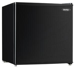 Danby  DCR016C1BDB Compact Refrigerator Black, Black
