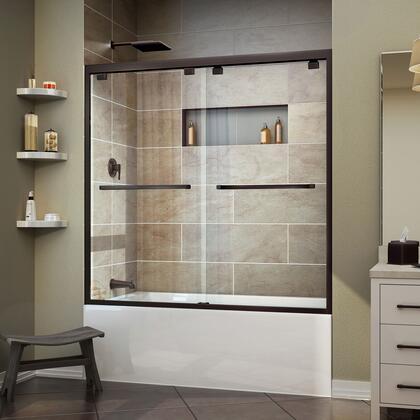 DreamLine  SHDR166058006 Shower Door , Encore TD 01 30D 30D ORB