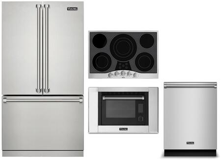 Viking  1310823 Kitchen Appliance Package Stainless Steel, Main Image