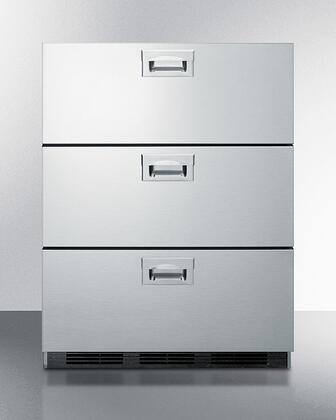 Summit  SP6DBS7 Drawer Refrigerator Stainless Steel, SP6DBS7 Drawer Refrigerator