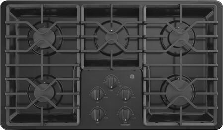 GE  JGP3036DLBB Gas Cooktop Black, Main Image