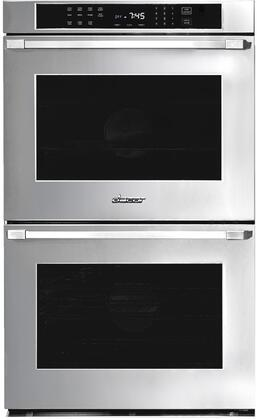 Dacor Professional HWO230PS Double Wall Oven Stainless Steel, Front View