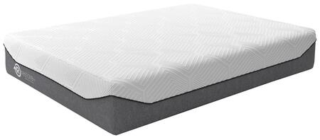 Realign+ 15 Plush Collection M74631 Queen Mattress with 3D Airflow Foam and High-Density Support Core in