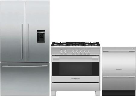Fisher Paykel 971233 Kitchen Appliance Package & Bundle Stainless Steel, main image