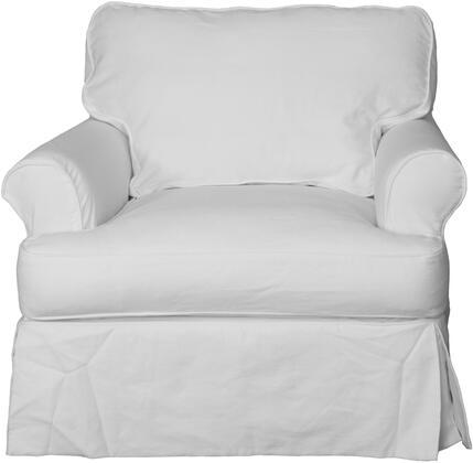 Sunset Trading Horizon SU117620423080 Living Room Chair White, Main Image