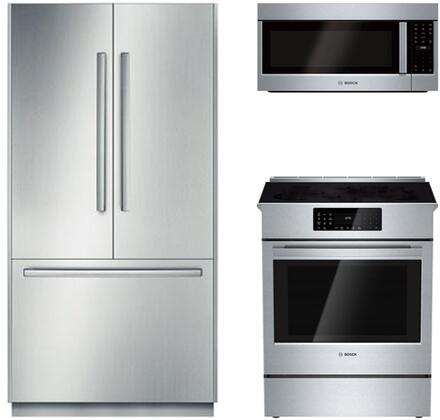 Bosch Benchmark  903268 Kitchen Appliance Package Stainless Steel, 1