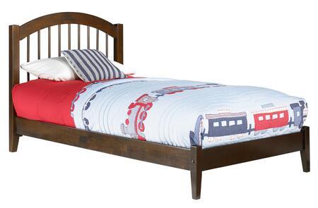 Atlantic Furniture Windsor AP9411004 Bed Brown, AP9411004