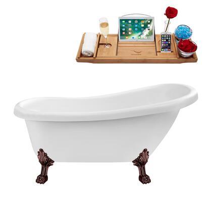 Streamline  N480ORBINBNK Bath Tub White, N480ORB IN BNK 1