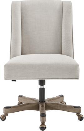 Linon Draper OC113NAT01U Office Chair , Main Image