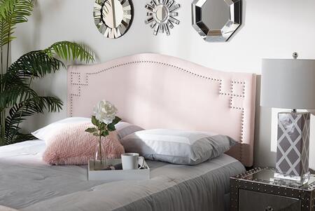 Baxton Studio Aubrey BBT6563LIGHTPINKHBFULL Headboard Pink, 9310 9311 9312 4