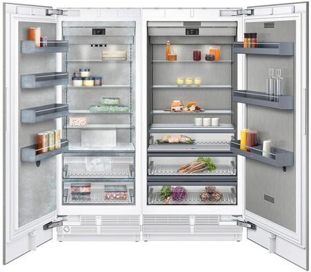 Gaggenau 400 Series 1383806 Column Refrigerator & Freezer Set Panel Ready, Main image