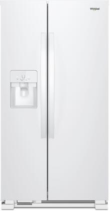 Whirlpool  WRS325SDHW Side-By-Side Refrigerator White, Main Image