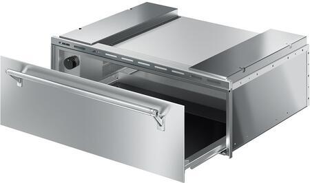 Smeg CTU330X Warming Drawer Stainless steel, Main Image