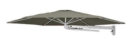 Shadowspec SU7 Series KITP7SQ30PBTPEA Outdoor Umbrella Gray, Taupe
