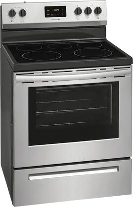 Frigidaire  FCRE3052AS Freestanding Electric Range Stainless Steel, Main Image
