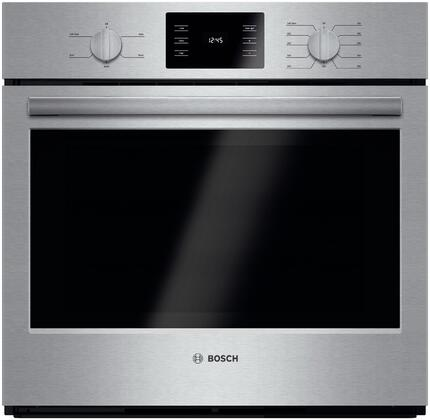 Bosch 500 Series HBL5351UC Single Wall Oven Stainless Steel, Main Image